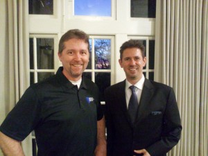 Patrick Schwerdtfeger and Internet Marketing Muscle's Bill Davis