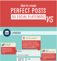 Perfect posts for social media campaigns