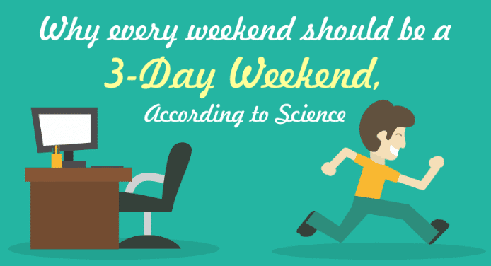 3 day weekends persuasive With memorial day weekend starting in just a few hours, many americans will be relishing in an extra day off to kick back and relax the additional time off may have everyone wishing a three-day weekend was the norm well, for some companies, it is treehouse, an online service that teaches web.