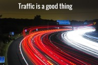 How to get web site traffic
