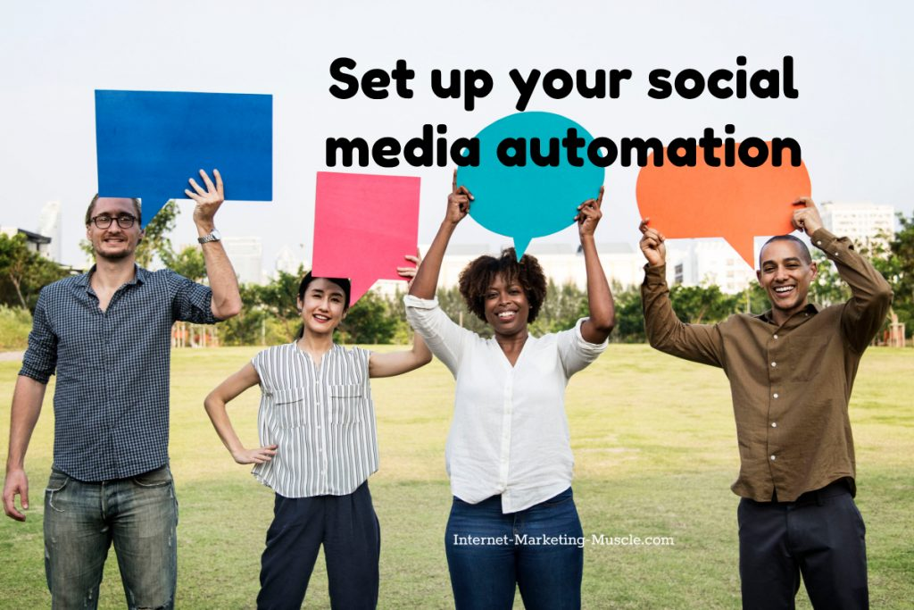set up your social media automation