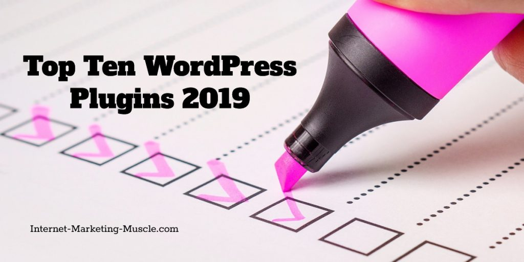 top ten WordPress plugins for 2019