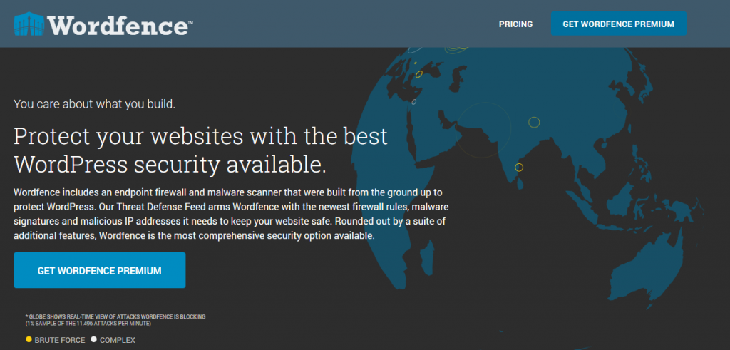 Wordfence is the best firewall for WordPress on the market!